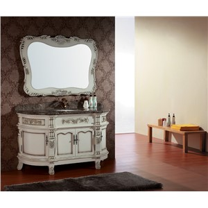 modern oak wood bathroom vanity