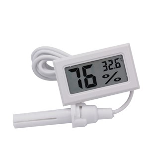 10pcs/lot Mini Digital LCD Indoor Convenient Temperature Sensor Humidity Meter Thermometer Hygrometer Gauge
