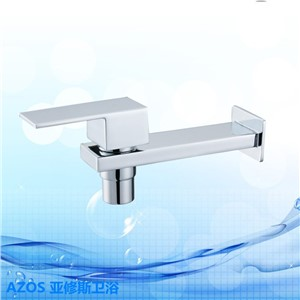 Single Handle Single Cold Hand Washing Brass Wall Mount Bathroom Kitchen Toilet laundry Vanity Sink Faucets DLCF026