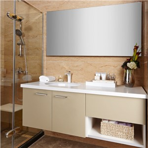 New Design Wholesale Acrylic Semi-open Chinese Bathroom Vanity OP14-031