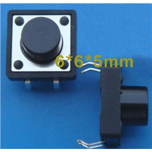 4pin electronic momentary micro switch push button switch used in calculator etc 6*6*5/12*12*7