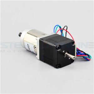 27:1 Planetary Gearbox Dual Shaft Nema 11 Stepper Motor 0.67A 4-wires DIY Robot