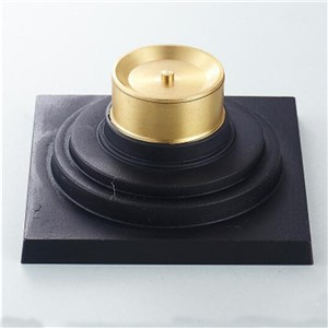 Oil Rubbed Bronze Bathroom Solid Brass Floor Drain Square Grate Waste Drainer