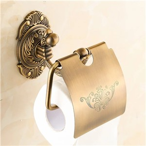 Bathroom accessories antique luxury brass Toilet Paper Holder,Roll Holder,Tissue Holder,Solid Brass paper holder in bathroom 850