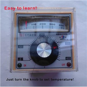 0-300/0-400 Degree Dial Indication Thermoregulator Temperature Controller