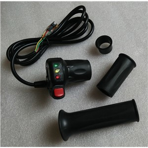 36V DC motor speed controller, Twist Throttle /Speed Handle/ Gas Acceleratorwith battery indicator