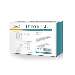 Wireless Boiler Room Controller home Heating Digital wifi Thermostat weekly Programmable 2 thermostats thermoregulator
