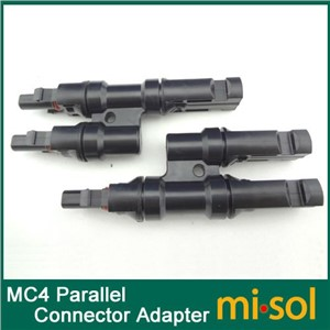 5pcs of MC4 Parallel connector Adapter 1M2F+2M1F, TUV, T Branch Connector
