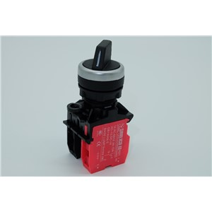 waterproof rotary push switch selector switch two or three-position standard handle SB1(LA68C M22)-AX25