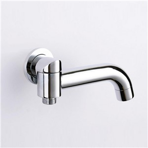 Single-Tube Bathroom Faucet Accessories Rotation tub shower spout Solid Brass Bath tap water filler