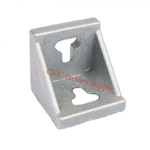 HOTSale 10pcs 4545 corner fitting angle aluminum L type  connector bracket fastener match use 4545 industrial aluminum profile