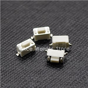 100PCS 2Pin SMD 3X6X4.3MM Tactile Tact Push Button Micro Switch Momentary