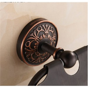 High Quality antique toilet paper holder Black Oil Brushed tissue box bathroom hardware luxury paper roll holder