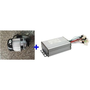 Fast Shipping 500W 48V DC 12 mofset 1pc brushless motor + 1pc controller  E-bike electric bicycle speed control