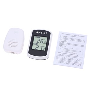 2016 Digital LCD Wireless Thermometer Hygrometer Electronic Temperature Humidity Meter Weather Station Indoor Outdoor Tester