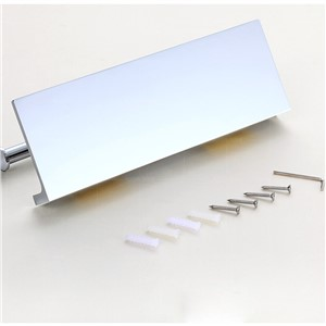 Wholesale and Retail Paper Holder Chrome Finish Wall Mounted Bathroom Accessories