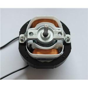 YJ58 CW clockwise 2 Poles 4mm Shaft Dia 2600RPM Shaded Pole Motor AC220V 12-14W around Ventilator Warm fan YJ58-12