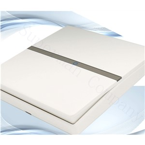 C1 wall switch a billing control  white panel material flame-retardant PC(  Start way rocker switch)