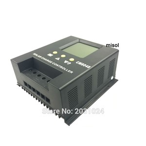 misol / solar regulator 80A 48V solar charge controller PWM, for solar panel battery charging