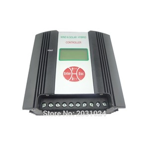 Hybrid Wind Solar Charge Controller 600W Regulator, 48VAC input, wind charge controller