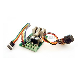PWM DC motor speed controller Digital display  0~100% adjustable drive module 6V~60V Input Max30A