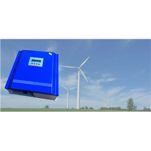 Rated Battery Voltage48V96V Wind Turbine5KW+PV Model 1500W Hybrid Controller With Communication LCD Display For Off-grid System