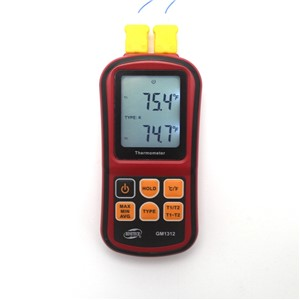 GM1312 Digital Thermometer Termometro -50~300C Temperature Meter for J K T E N R S Type Thermocouple