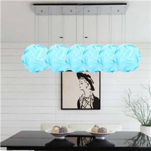 New Fashion IQ Puzzle Jigsaw Light Lamp Shade Ceiling Sizes 2 Colors Modern Design