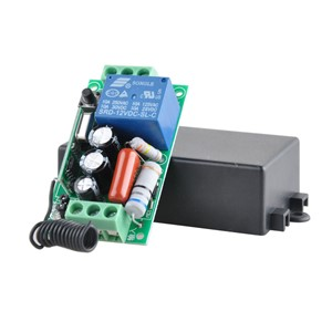 Wireless Remote Control Light Switch 10A Relay Output Radio 220V 1 Channel Receiver Module + 50-500M Transmitter