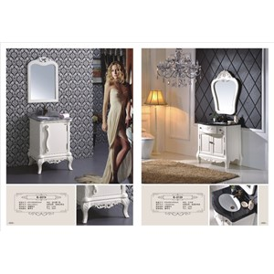 Good quality bathroom modern vanity white color vanity