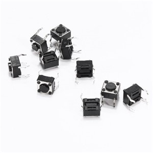 1000PCS/LOT 6*6*4.3 micro touch switch button switch 6mm*6mm*4.3mm 6x6x4.3