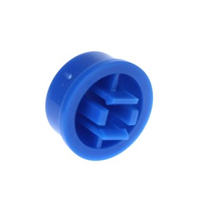 Smart Electronics 10Pcs Tactile Push Button Switch Momentary 12*12*7.3MM Micro Switch Button+10PCS 5 Colors Tact Cap