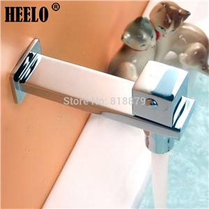 1/2 Brass bathroom lavatory single cold water tap outdoor garden wall tap bibcocks washing machine tap