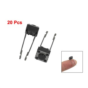 MYLB-20 Pcs 6x6x4mm Momentary Tactile Tact Push Button Switch 2 Pin DIP Through Hole