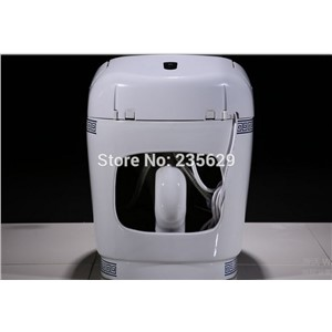 2016 Hot sale factory price newest design smart s-trap chinese wc toilet