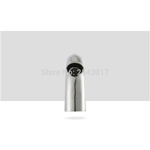 New Arrivals Hotel Toilet Sensor Faucet Chrome Finish Hands Free Automatic Sensor Taps Vessel Sink Basin Mixer ZR1010
