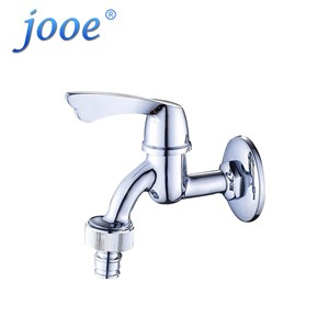 jooe outdoor garden tap Wall Mounted single cold water tap brass Washing Machine faucet rubinetto giardino torneira do banheiro