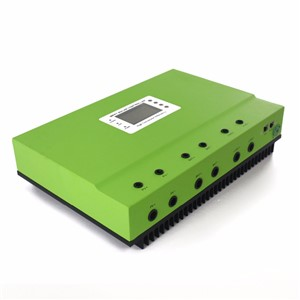 12V 24V 36V 48V Auto 80A MPPT Solar Controller Self-cooling Solar Charge Controller with LCD and RS232 LAN communication ports