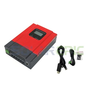 40A MPPT Solar Charge Controller DC 12V/24V/36V/48V Auto Battery Charger Regulator CE Max PV Input 130V With LCD Display