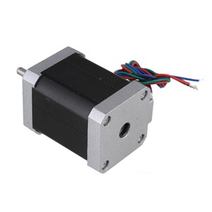 Silver 42mm Bipolar SL42STH60-1704A Stepping Motor DC12V 1.7A Two-Phase Stepper Motors with 4-lead Cable