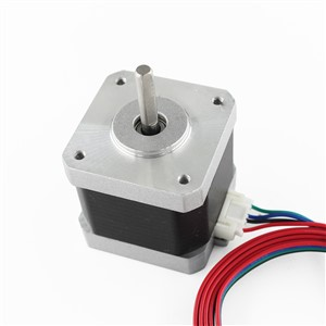 CE certification 5Pcs 4-lead Nema17 Stepper Motor 42 motor Nema 17 motor 42BYGH 1.7A (17HS4401) motor for CNC XYZ