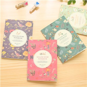 2017 Stationary Panda Planner Stickers South Korea Stationery New Korean Flower Color Pocket Small Notebook 64k Customization