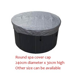 240cm diameter x 30cm high ROUND spa hot tub cover cap bag Other Size can be available