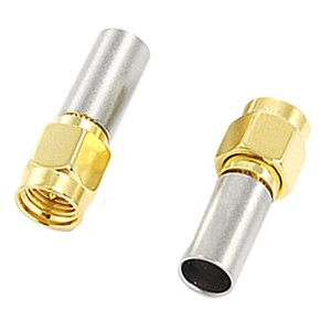 20 lots 5 in 1 SMA Male Plug RF Coaxial Connector Crimp for RG142 RG400 LMR195 RG223