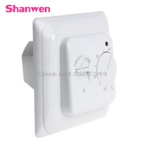 Safe Mechanical Floor Manual Heating Thermostat Temperature Control Switch 220V #G205M# Best Quality