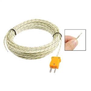 -50-250 Celsius K Type 10M Cable Temperature Sensor Thermocouple Probe