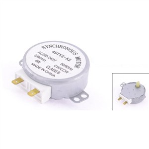 Microwave Oven Turntable Synchronous Motor CW/CCW 4W 5/6RPM AC 220-240V