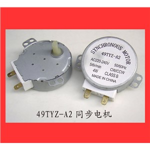 1pcs 49TYZ-A2 4W 4RPM AC 220-240V 50/60Hz Synchronous Motor for Microwave Oven