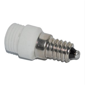 E14 TO G9 adapter Conversion socket High quality ceramic material fireproof material ocket adapter Lamp holder 5pcs/lot