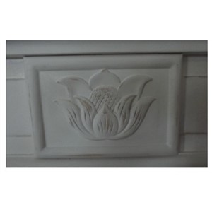 White color vanity design for villa 0281-B8065